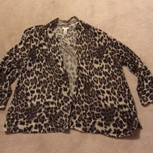 Chico's 3/4 sleeve sweater size XL